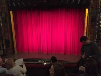 Palace Theatre (Broadway), section: Mezz, row: C, seat: 113