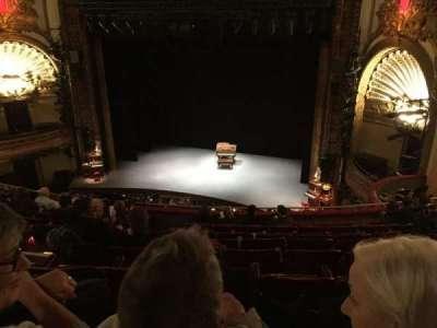 Palace Theatre (Broadway), section: Mezz, row: J, seat: 128