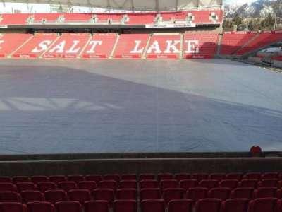 Rio Tinto Stadium, section: 16, row: p, seat: 14