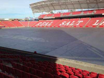 Rio Tinto Stadium, section: 15, row: p, seat: 14