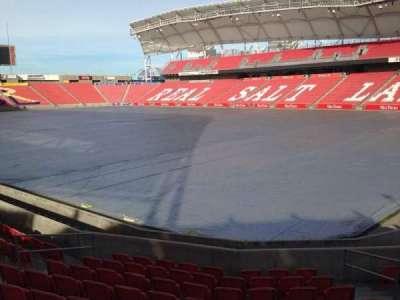 Rio Tinto Stadium, section: 14, row: p, seat: 10