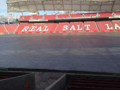 Rio Tinto Stadium, section: 19, row: p, seat: 14