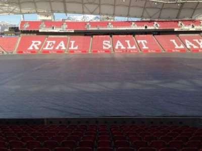 Rio Tinto Stadium, section: 20, row: p, seat: 15