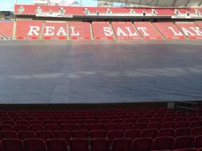 Rio Tinto Stadium, section: 21, row: p, seat: 14