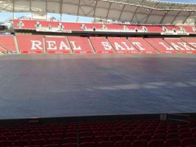 Rio Tinto Stadium, section: 22, row: p, seat: 14