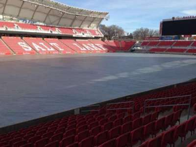 Rio Tinto Stadium, section: 23, row: p, seat: 14