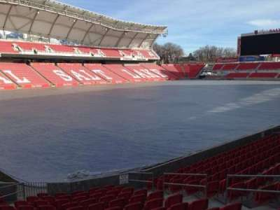 Rio Tinto Stadium, section: 24, row: p, seat: 10