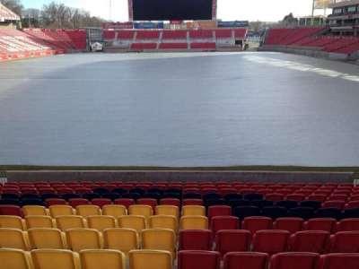 Rio Tinto Stadium, section: 28, row: p, seat: 11