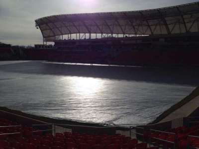 Rio Tinto Stadium, section: 33, row: p, seat: 10