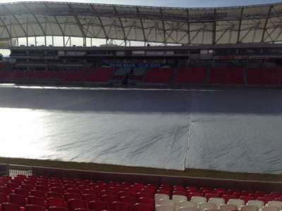 Rio Tinto Stadium, section: 36, row: p, seat: 15