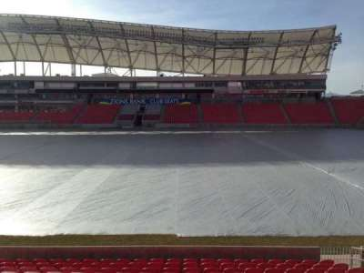 Rio Tinto Stadium, section: 37, row: p, seat: 15