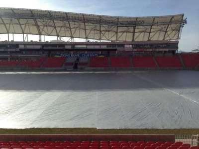Rio Tinto Stadium, section: 37, row: p, seat: 15