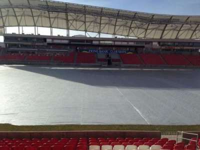 Rio Tinto Stadium, section: 2, row: p, seat: 15
