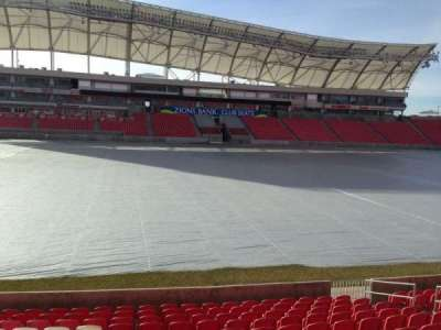 Rio Tinto Stadium, section: 3, row: p, seat: 15