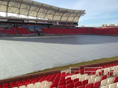 Rio Tinto Stadium, section: 4, row: p, seat: 15