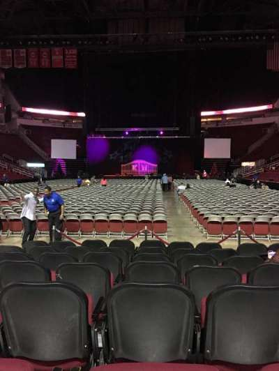 Toyota Center, section: 113, row: H, seat: 11