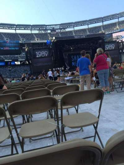 MetLife Stadium, section: 12, row: 45