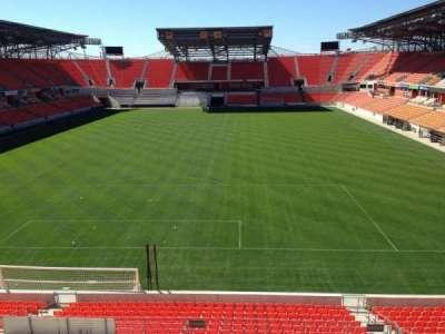 BBVA Compass Stadium, section: 215, row: D, seat: 14