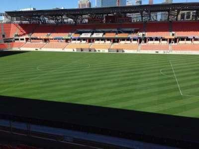 BBVA Compass Stadium, section: 224, row: J, seat: 15