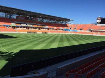 BBVA Compass Stadium, section: 130, row: F, seat: 6