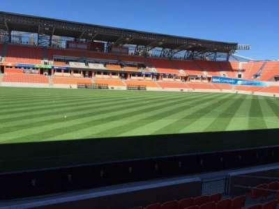 BBVA Compass Stadium, section: 128, row: F, seat: 15