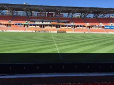 BBVA Compass Stadium, section: 126, row: F, seat: 15