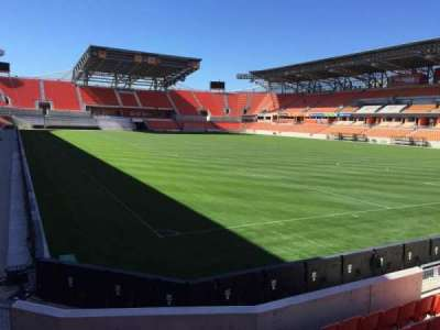 BBVA Compass Stadium, section: 118, row: F, seat: 12