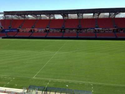BBVA Compass Stadium, section: 206A, row: D, seat: 10