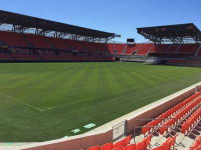 BBVA Compass Stadium, section: 110, row: F, seat: 10