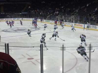 Madison Square Garden, section: 111, row: 8 , seat: 16