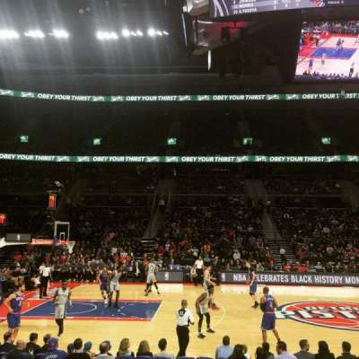 The Palace of Auburn Hills, section: 101, row: B, seat: 9