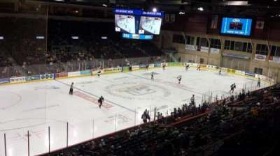 Erie Insurance Arena, section: 315, row: A, seat: 5