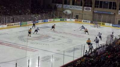 Erie Insurance Arena, section: 213, row: Z, seat: 4