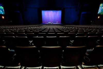 Microsoft Theater, section: Orchestra Center, row: S, seat: 314