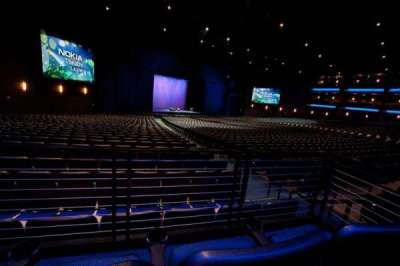 Microsoft Theater, section: Orchestra Center Left, row: SS, seat: 404