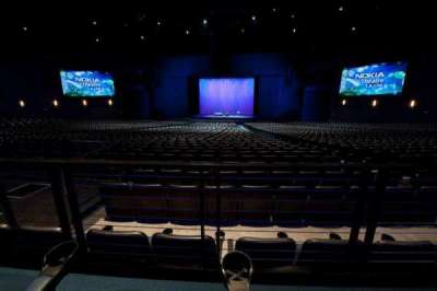 Microsoft Theater, section: Orchestra Center, row: SS, seat: 316