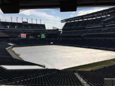 Lincoln Financial Field, section: NE Terrace 1, row: 5, seat: 36