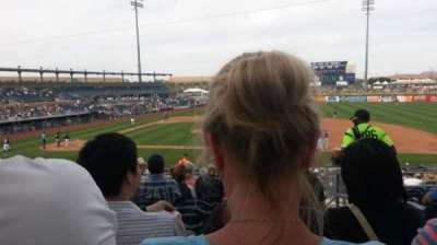 Peoria Sports Complex, section: 210, row: KK, seat: 20