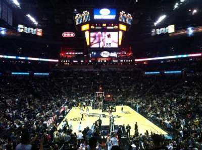 AT&T Center, section: 101, row: 25, seat: 5
