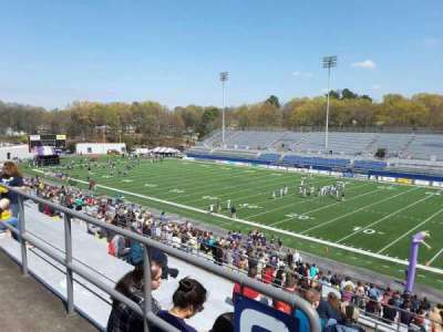 Braly Stadium, section: G, row: 30, seat: 39