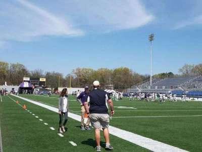 Braly Stadium, section: Sideline