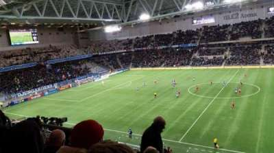 Tele2 Arena, section: B327, row: 11, seat: 328