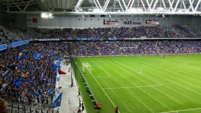 Tele2 Arena, section: B322, row: 5, seat: 93