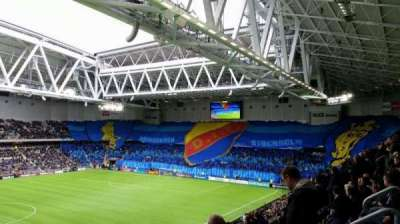 Tele2 Arena, section: B306, row: 7, seat: 252