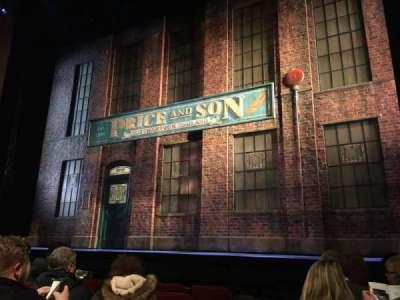 Al Hirschfeld Theatre, section: Orchestra, row: F, seat: 4