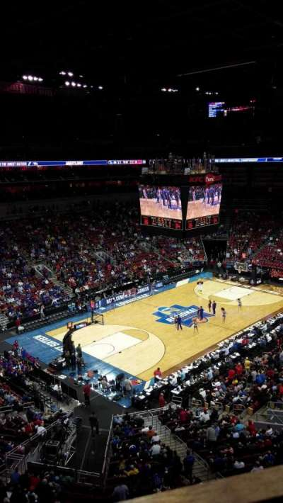 KFC Yum! Center, section: 312, row: A, seat: 4