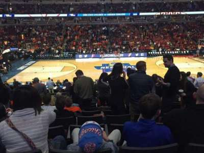 United Center, section: 112, row: 17, seat: 4