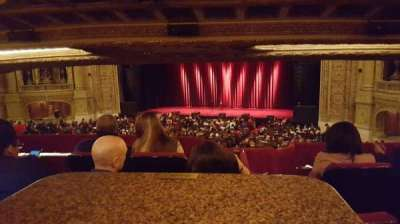 Chicago Theatre, section: Booth, row: J, seat: 1 and 2
