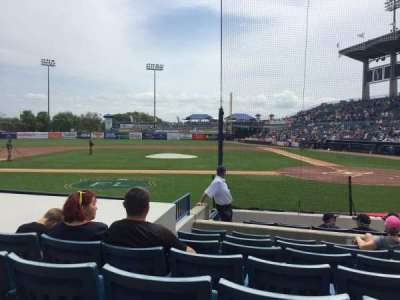 George M. Steinbrenner Field, section: 115, row: GG, seat: 7