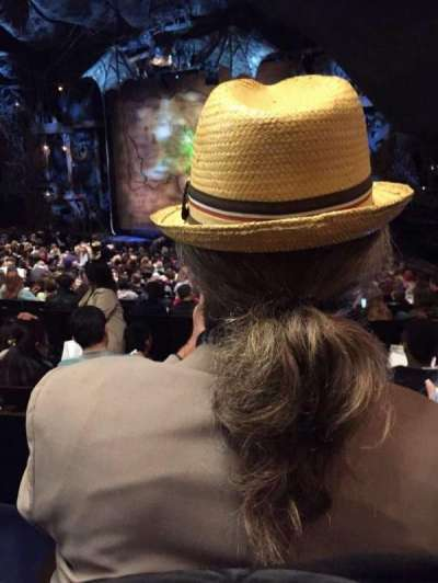 Gershwin Theatre, section: U, seat: 32
